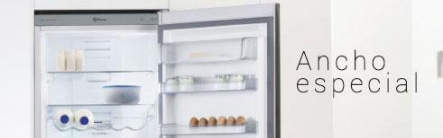 Frigor ficos con ancho especial para cocinas con espacio - Frigorificos medidas especiales ...