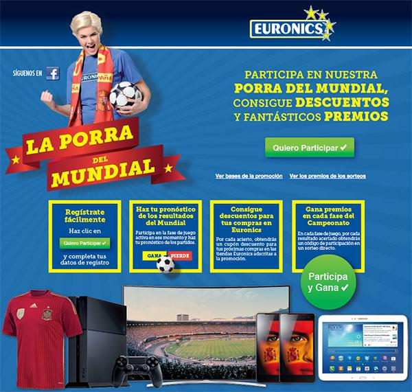 La porra del mundial mejor campa a de marketing euronics - La mejor campana extractora del mercado ...