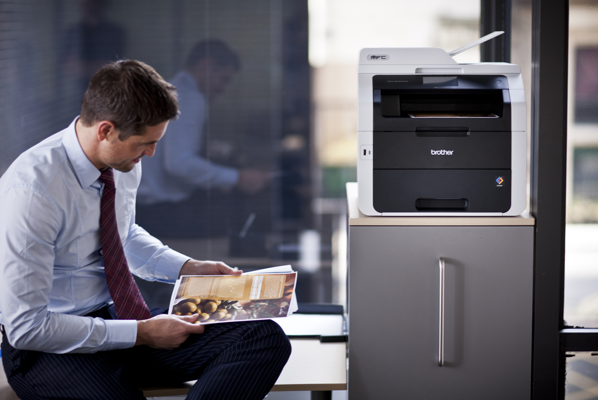 Impresoras brother cualidades y funciones impresoras y for Impresoras para oficina