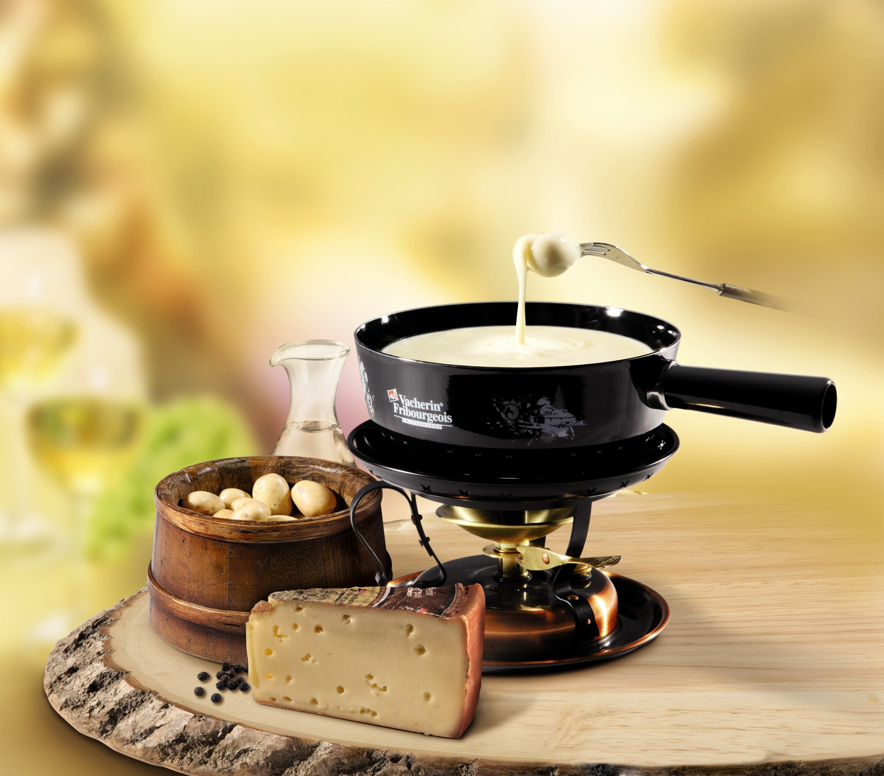 Fondue de queso o de chocolate. Conoce los diferentes tipos de ... | {Fondues 72}