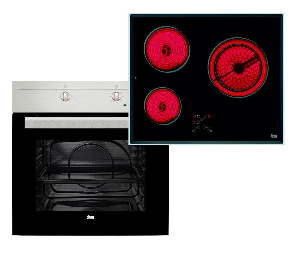 Conjunto horno y placa Teka HS-435-TB610