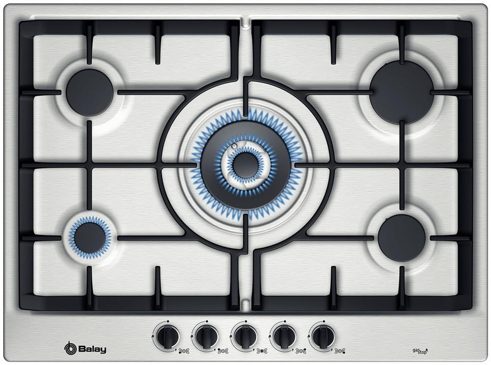 Bonito cocinas de gas butano balay fotos placas y for Placas de gas baratas