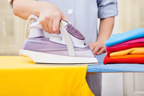 Planchar ropa