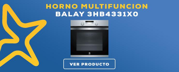 horno multifuncion Balay 3HB4331X0