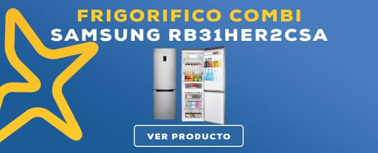 frigorifico combi Samsung RB31HER2CSA