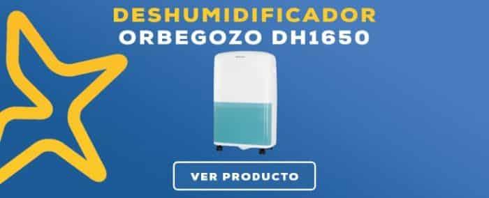 deshumidificador Orbegozo DH1650