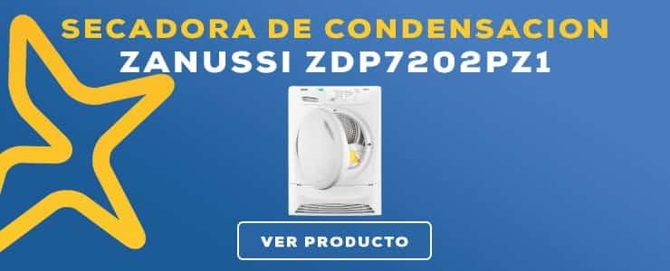 secadora de condensacion zanussi ZDP7202PZ1