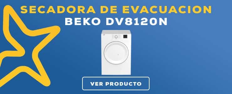 secadora de evacuacion Beko DV8120N