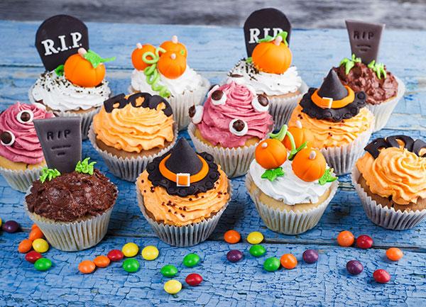 Cupcakes De Halloween Ideas De Cupcakes Terrorificamente