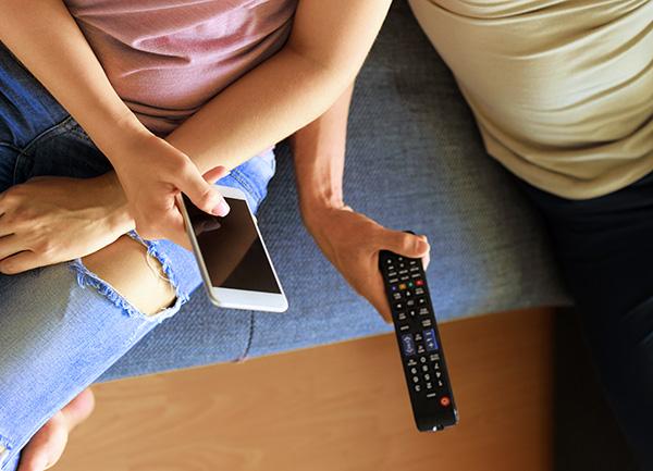 móvil como mando a distancia
