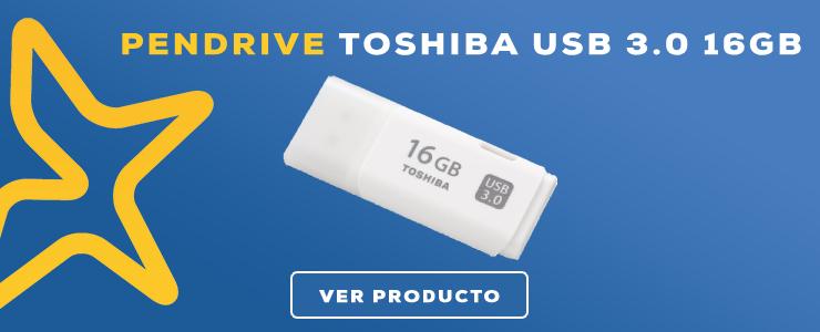 pendrive 3.0 toshiba 16gb
