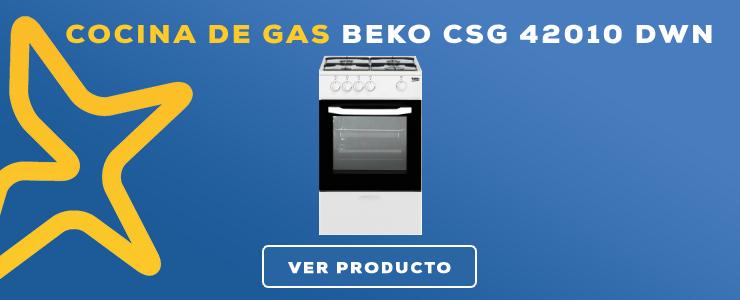 cocina de gas con horno beko