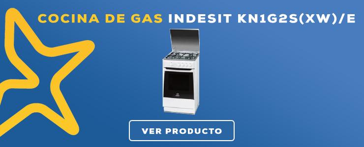 cocina de gas con horno indesit