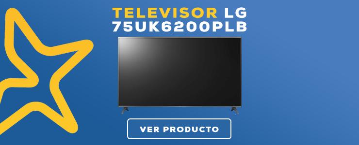televisor lg 75 pulgadas