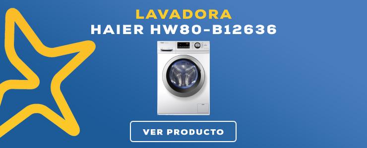 lavadora carga frontal Haier