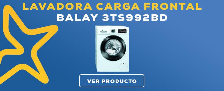 LAVADORA CARGA FRONTAL Balay 3TS992BD