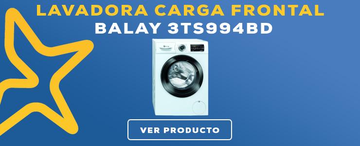 LAVADORA CARGA FRONTAL Balay 3TS994BD