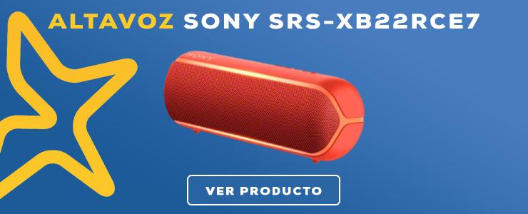 altavoz Sony SRS-XB22RCE7