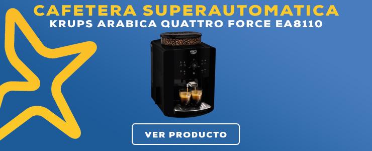 cafetera superautomatica Krups Arabica Quattro Force EA8110