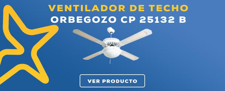 ventilador de techo Orbegozo CP 25132 B