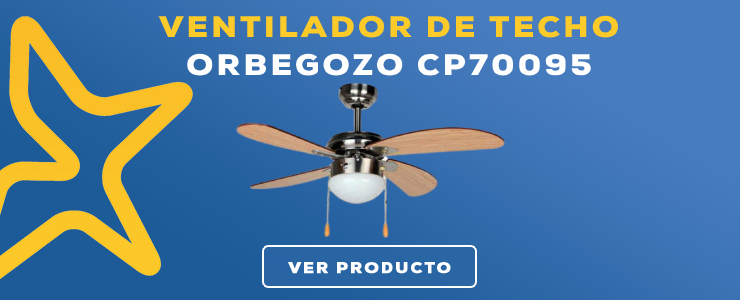 ventilador de techo Orbegozo CP70095