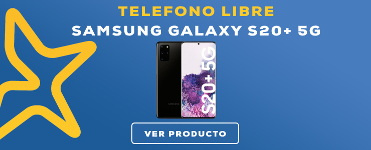 TELEFONO LIBRE Samsung Galaxy S20+ 5G