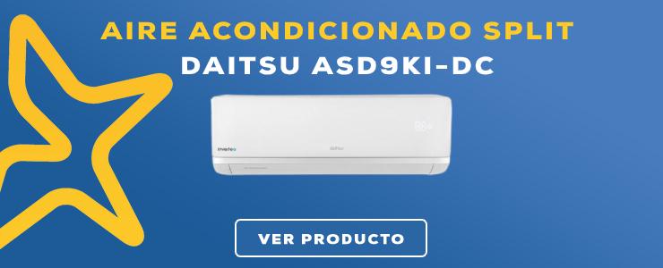 aire acondicionado split Daitsu ASD9KI-DC