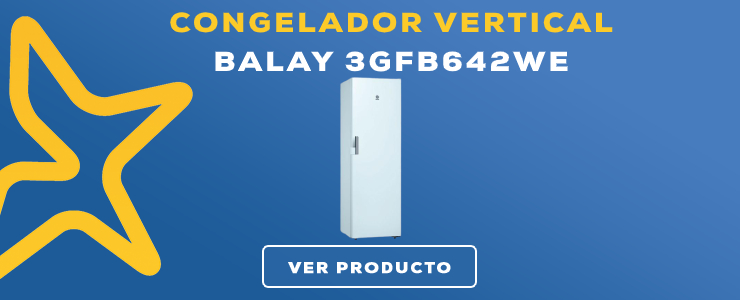 congelador vertical Balay 3GFB642WE