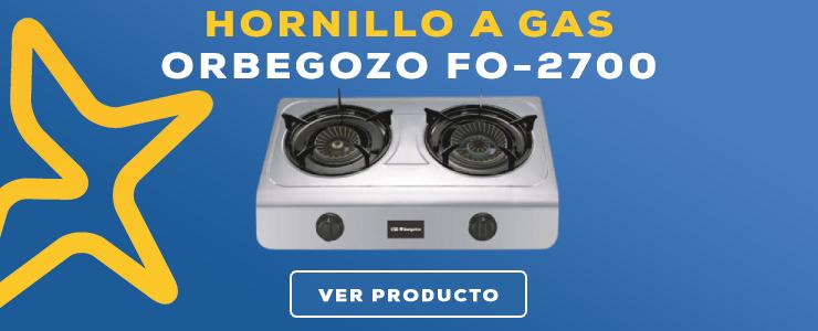 hornillo a gas Orbegozo FO-2700