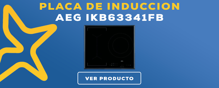 placa de induccion AEG IKB63341FB