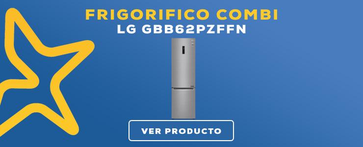 frigorifico combi lg gbb62pzffn