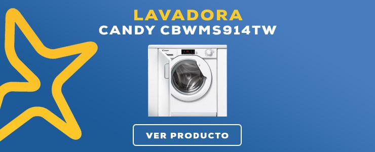 lavadora Candy CBWMS914TW