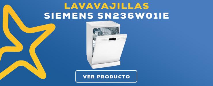 lavavajillas Siemens SN236W01IE