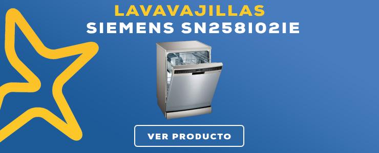 lavavajillas Siemens SN258I02IE