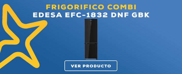 frigorifico combi Edesa EFC-1832 DNF GBK