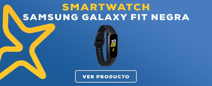 smartwatch Samsung Galaxy Fit Negra