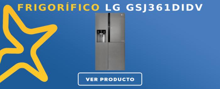Frigorífico americano LG GSJ361DIDV