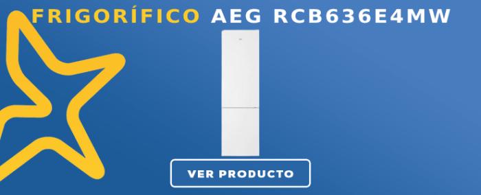 Frigorífico combi AEG RCB636E4MW