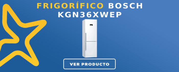 Frigorífico combi Bosch KGN36XWEP