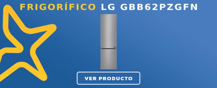 Frigorífico combi LG GBB62PZGFN