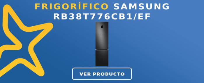 Frigorífico combi Samsung RB38T776CB1/EF