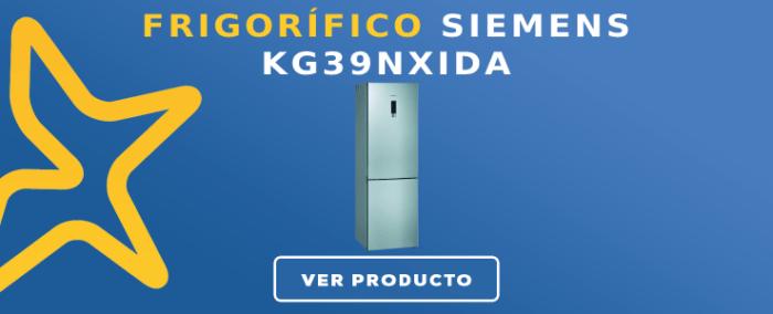 Frigorífico combi Siemens KG39NXIDA