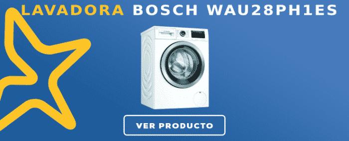 Lavadora carga frontal Bosch WAU28PH1ES