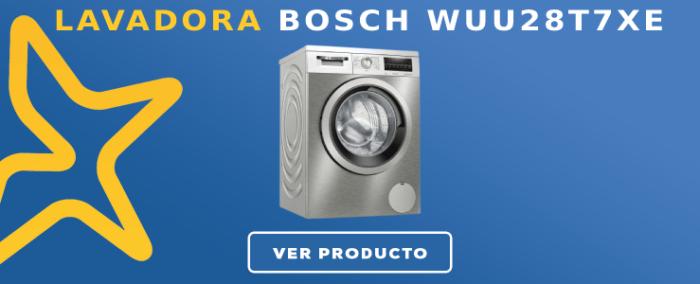 Lavadora Bosch WUU28T7XES