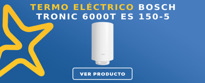 Termo Eléctrico Bosch Tronic 6000T  ES 150-5