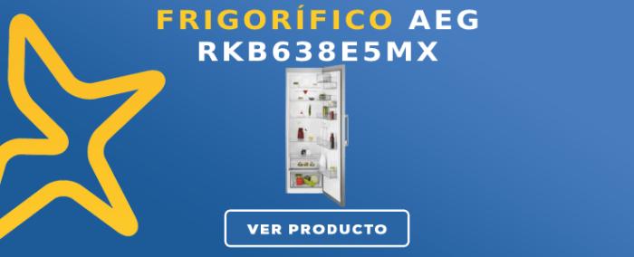 Frigorífico 1 puerta AEG RKB638E5MX