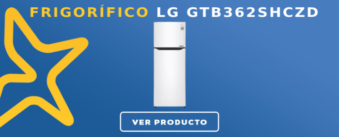 Frigorífico 2 puertas LG GTB362SHCZD