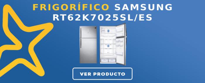 Frigorífico 2 puertas Samsung RT62K7025SLES