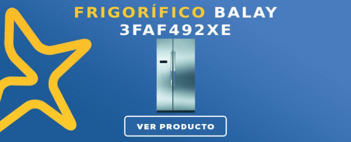 Frigorífico americano Balay 3FAF492XE
