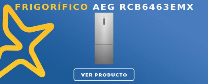 Frigorífico combi AEG RCB6463EMX